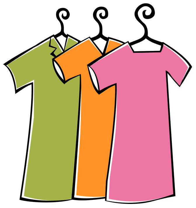 Pick Up Clothes Clipart Re-order promotional supplies